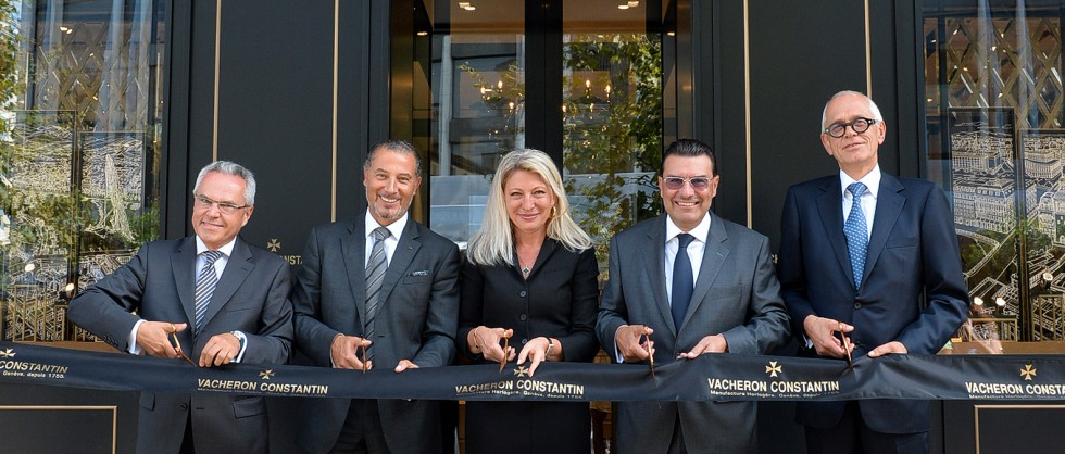 A symbolic date for the reopening of the Longemalle Boutique in Geneva - Big