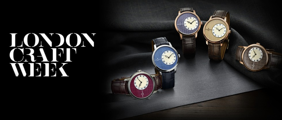 Vacheron Constantin, partner of the second edition of LONDON CRAFT WEEK - Big