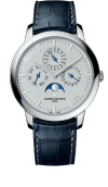 Patrimony perpetual calendar ultra-thin - Collection Excellence Platine (43175/000P-B190)