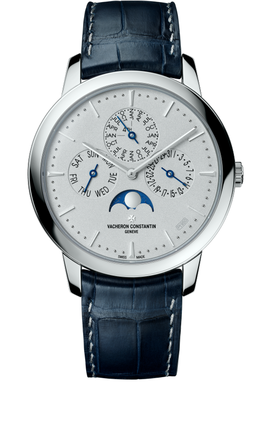 Patrimony perpetual calendar ultra-thin - Collection Excellence Platine : 43175/000P-B190
