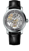 Traditionnelle tourbillon skeleton (89010/000P-9935)