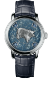 Métiers d'Art The legend of the Chinese zodiac - Year of the pig (86073/000P-B429)