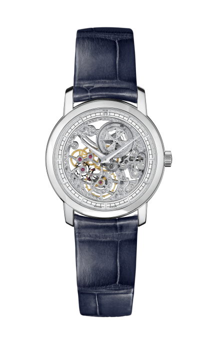 Traditionnelle manual-winding ultra-thin skeleton
