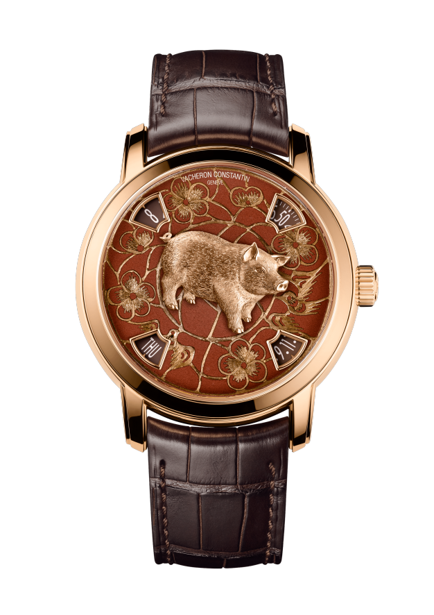 Métiers d'Art The legend of the Chinese zodiac - Year of the pig