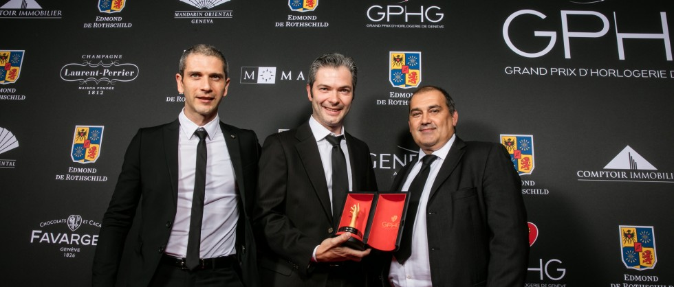 Special Jury Prize for the Reference 57260 - Grand Prix d'Horlogerie de Genève 2015