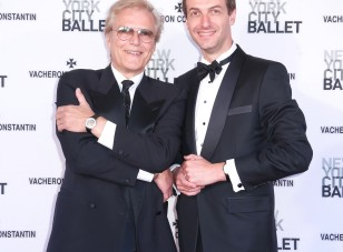 New York City Ballet Master-in-Chief Peter Martins & Vincent Brun, President of Vacheron Constantin North America